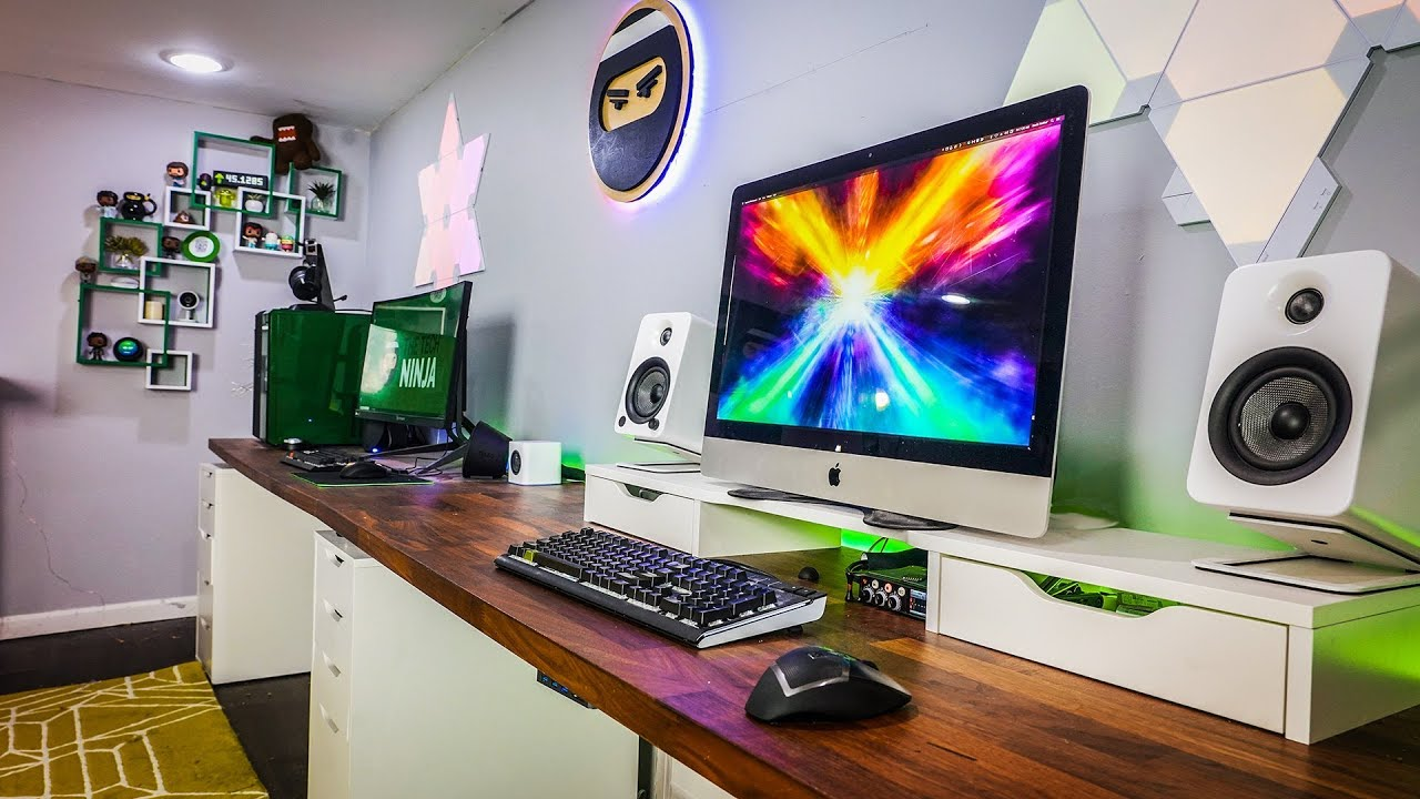 The Ultimate Man Cave My Set Up Part Ii Youtube