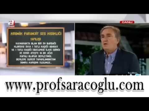 Prof. Dr. İbrahim SARAÇOĞLU Kronik Faranjit Ve Zayıflama İçin Biktisel Kürler