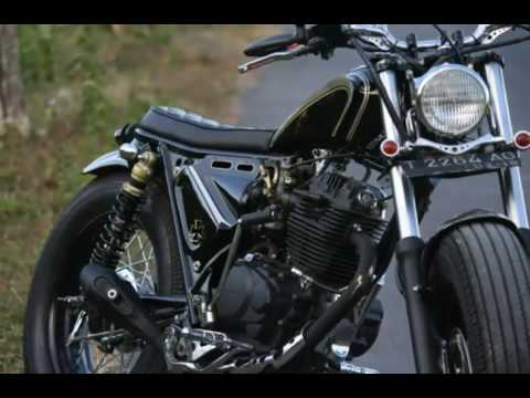 Modifikasi Honda Tiger/ GL200 bobber custom