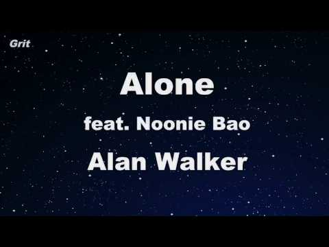 Alone - Alan Walker Karaoke 【With Guide Melody】 Instrumental