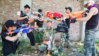 LTT Nerf War : SEAL X Warriors Nerf Guns Campaign Special Fight Attack Criminal Group