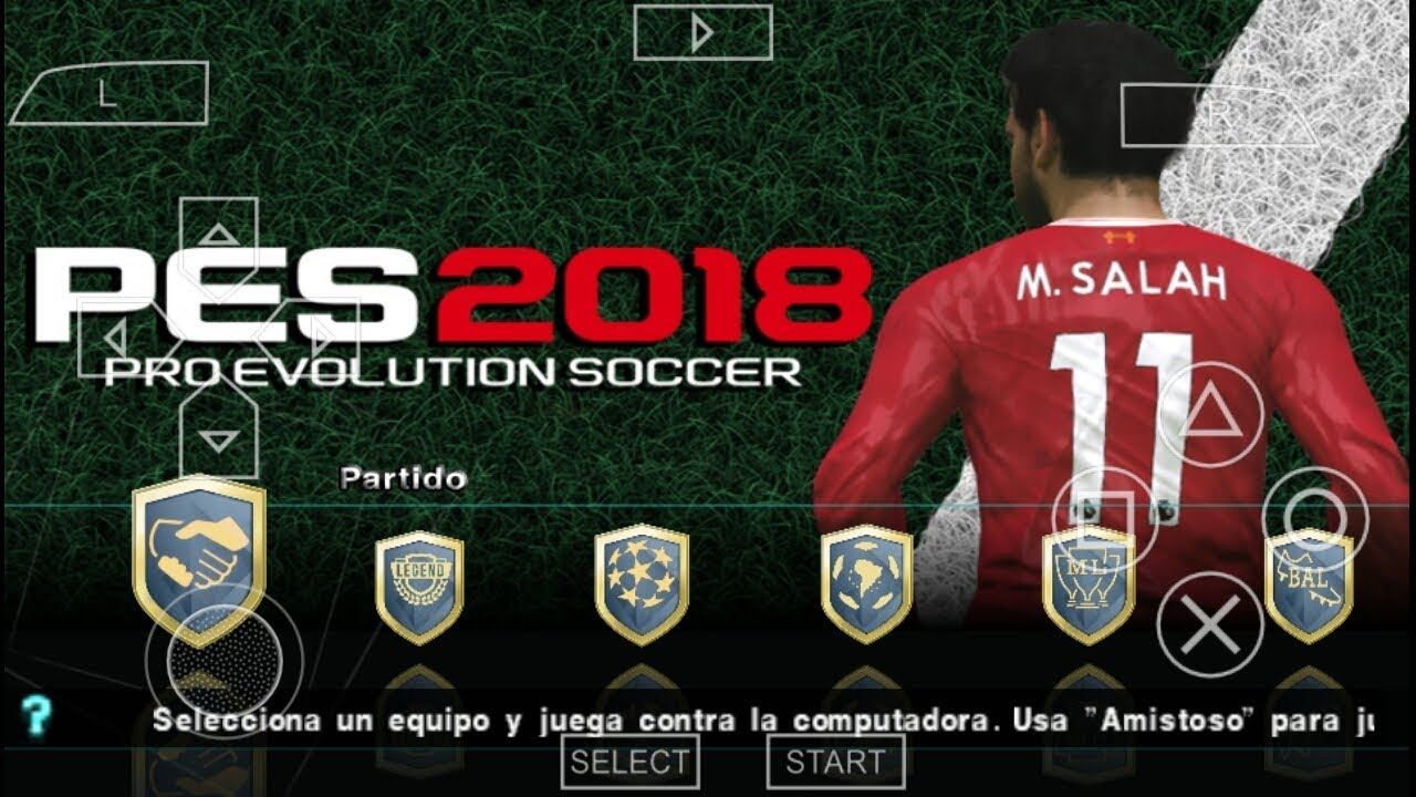 Pes 2018 iso cso ppsspp   PES 2018 PPSSPP ISO Android Jogress V3