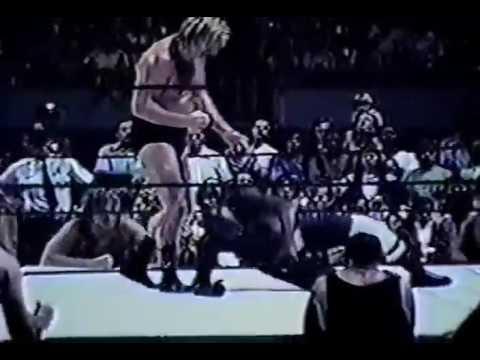 Mid Atlantic Super Destoyer & Johnny Valentine vs Sonny King & Swede Hanson