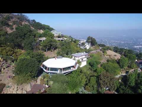 Los Angeles Via Drone: Chemosphere House
