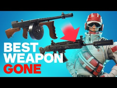 Fortnite: The Best Weapon in the Game Removed! thumbnail