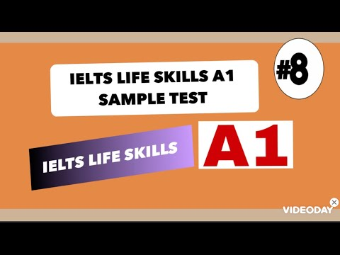 IELTS LIFE SKILLS A1|SAMPLE TEST|2021|SPEAKING AND LISTENING