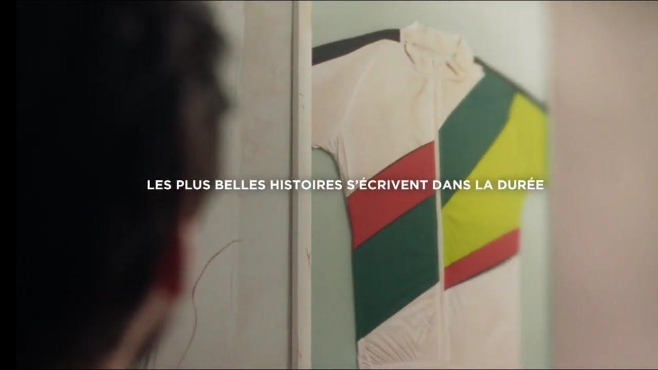 """Musique de la pub Groupama – boutique de vélos """"les plus belles histoires s'écrivent dans la durée""""  Juin 2021"""