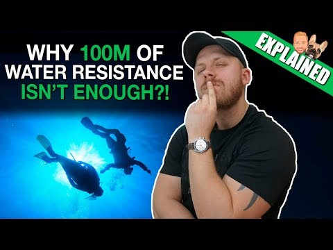 Water Resistance Explained - DON'T SWIM With Your Watch Before Watching This Video