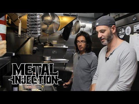 Taste of Metal – PERIPHERY's Matt & Mark Cook Rack Of Lamb Dinner!   Metal Injection