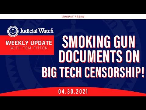 Corrupt Biden DOJ Abuses Giuliani and Trump, Smoking Gun Docs on Govt & Big Tech Censorship!