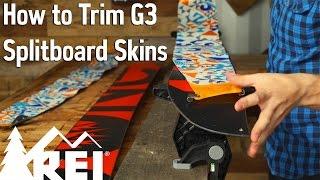 Snowboarding: How to Trim G3 Splitboard Skins