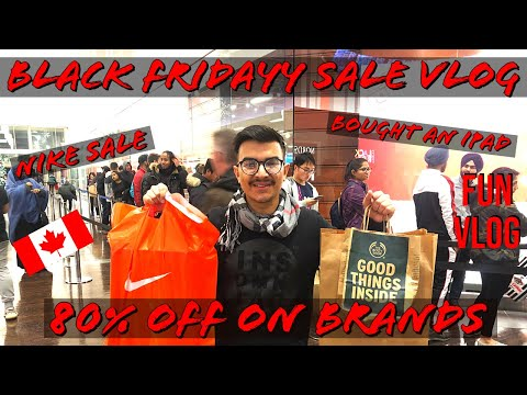 BLACK FRIDAY SHOPPING VLOG In CANADA | CRAZY DEALS | FUN VLOG