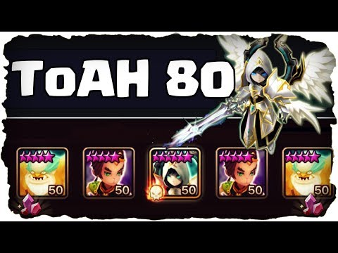 SUMMONERS WAR 💥 ToA Hard Stage 80 - Mein Freund Artamiel! ★ (Amazon Sponsored)