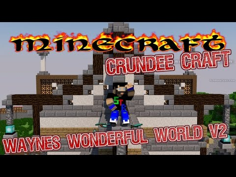 Minecraft  - Wayne' s Wonderful Crundee Craft - Raid (9)