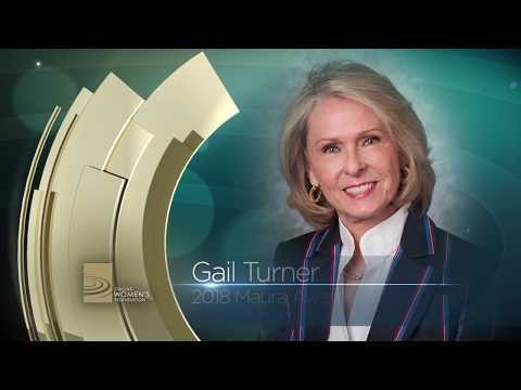 Gail Turner - Dallas Women's Foundation 2018 Maura Award Recipient