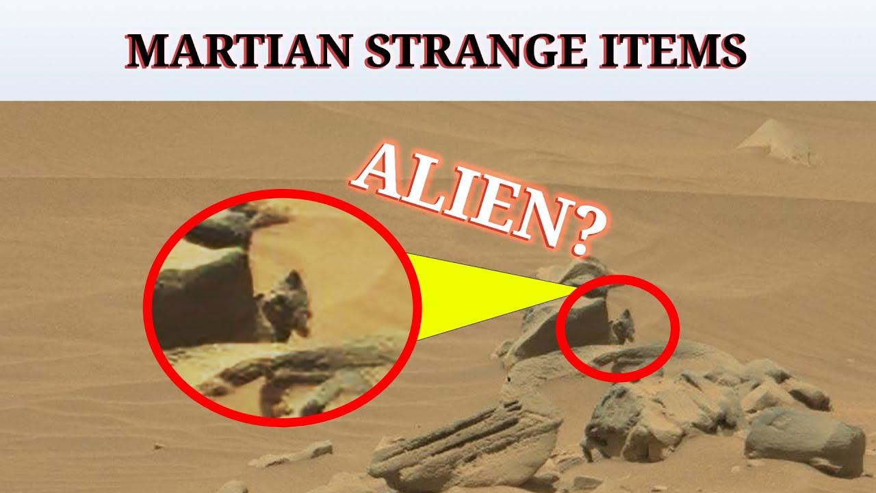 Download MARTIAN STRANGE ITEMS on Mars : Alien | Marte Perseverance