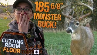 "185 6/8"" MEGA MONSTER BUCK!? Taylor Takes Gold! - The Cutting Room Floor"