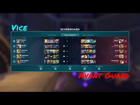 Vice 0-4 Avant Guard (27th March)  Stone Keep