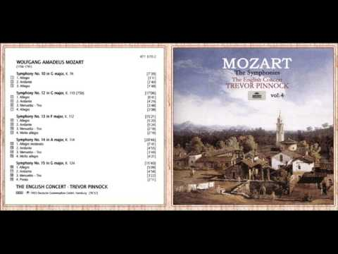 W. A. Mozart - Symphony No. 13 in F major, K.112: III. Menuetto and Trio mp3