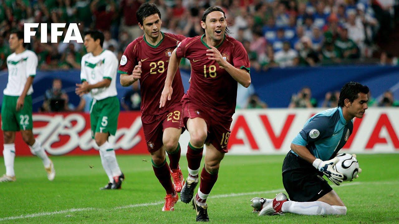 Resultado de imagem para Portugal v Mexico, 2006 FIFA World Cup
