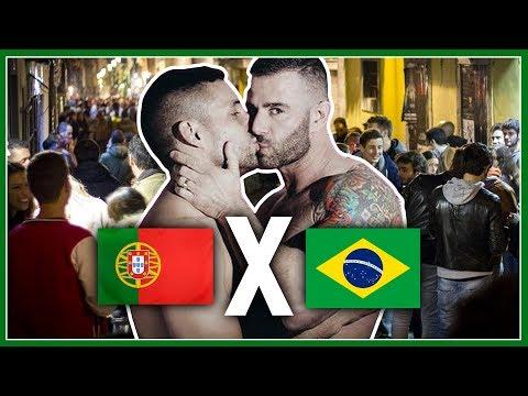 Gays de PORTUGAL X BRASIL: Pabllo Vittar, Diferenças, Gírias Gays, Noite de Lisboa - Põe Na Roda