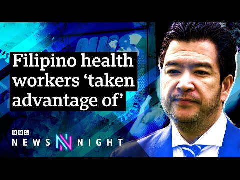 Why are so many Filipino health workers dying of Covid19? - BBC Newsnight