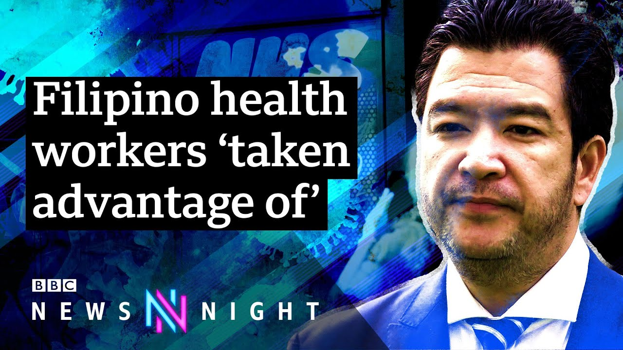 BBC Newsnight UK: Why are so many Filipino health workers dying of Covid19?
