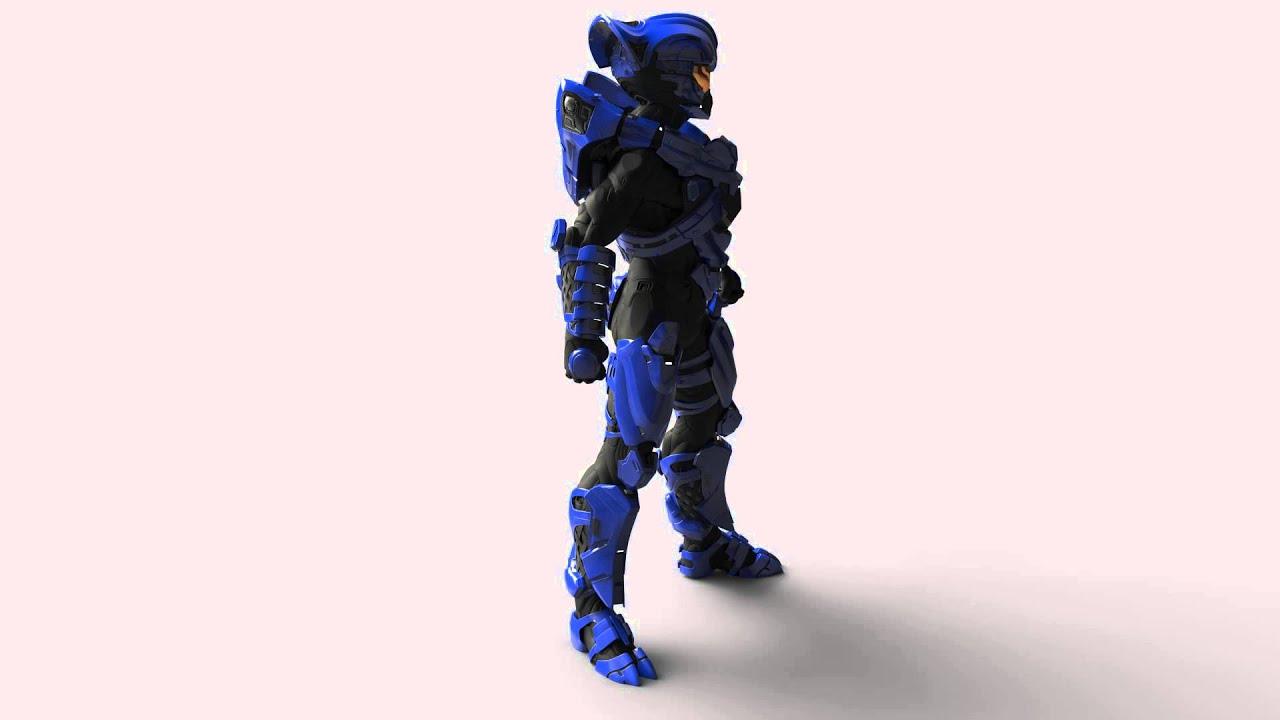Halo 5 Guardians Multiplayer Beta Helios Skrill Suit