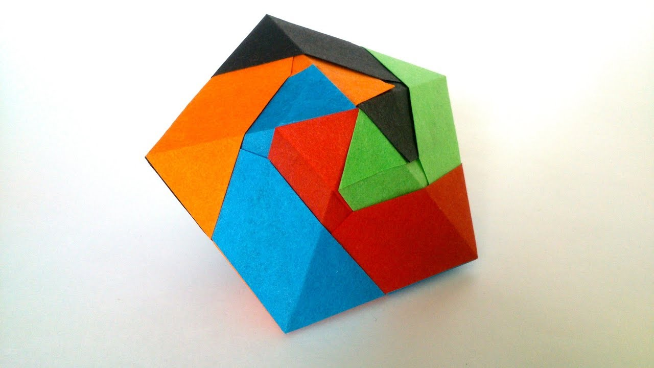 Origami from modules: history and features of art 24