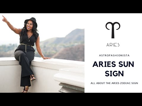 ALL ABOUT ARIES ZODIAC SIGN