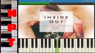 The Chainsmokers ft. Charlee - Inside Out - Piano Tutorial