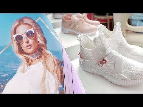 Paris Hilton's Colombia Shoe Collection Launch Vlog