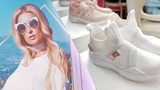 Paris Hilton's Colombia Shoe Collection Launch Vlog