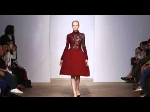 Yiqing Yin   Haute Couture Fall Winter 2013 2014   Full Show   Exclusive