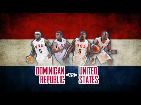 USA Basketball Showcase vs. Dominican Republic @ Thomas & Mack Center - July 12, 2012