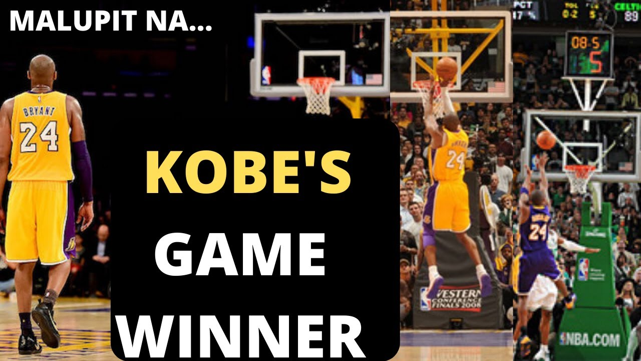 BALIKAN NATING ANG MGA KOBE'S GAME WINNER I A TRIBUTE TO THE LEGEND I GONE BUT NEVER FORGOTTEN