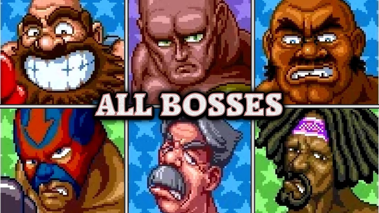 super punch out all opponents no damage youtube