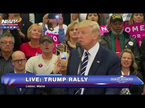 FULL: Donald Trump Rally in Maine