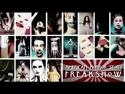 American Horror Story: Freakshow - All Teasers Compilation