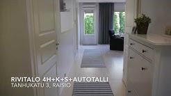 Myytävänä Rivitalo 4h+k+s+autotalli, Raisio