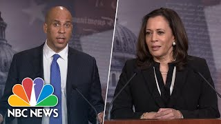 Booker, Harris On Republican Police Reform plan: It would 'Lead Us Into A Dead End' | NBC News