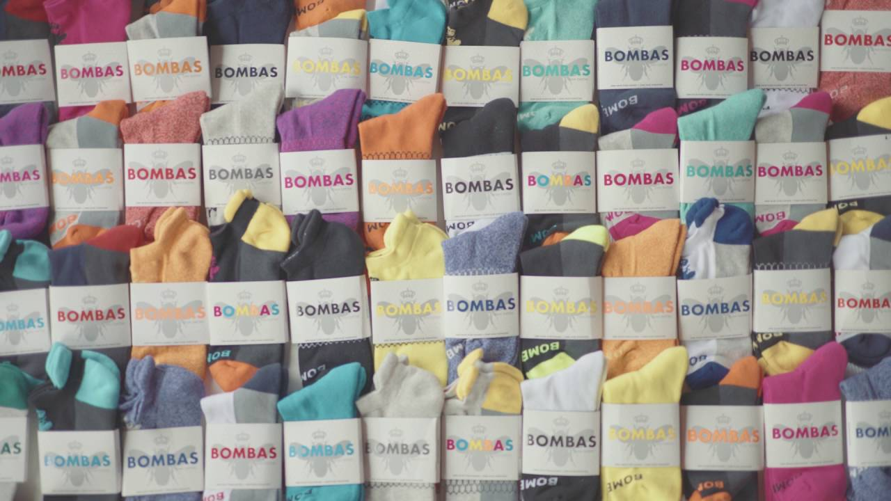 91879125d3f 1 Million Pairs of Bombas Socks Donated - YouTube