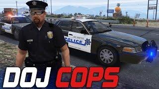 Dept. of Justice Cops #25 - Baseball Targets! (Criminal)