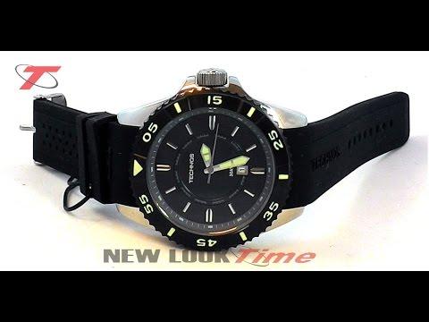 9bf9be1f2c5 Relógio TECHNOS Acqua 2115KMC 8P - New Look Time Relógios - YouTube