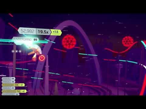 В трейлере FutureGrind выглядит как футуристичный неоновый приемник Trials