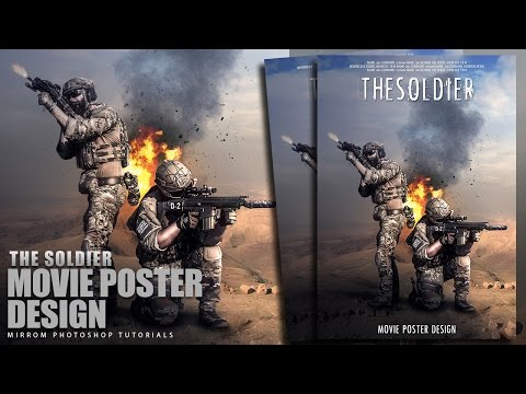 How To Editing Teaser Poster In Photoshop cs6
