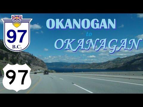 Time Lapse: Quincy, Washington through Okanagan Valley to Kelowna, British Columbia