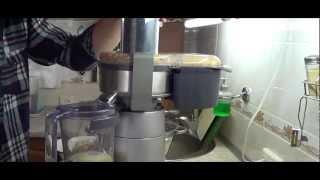 Соковыжималка кенвуд часть 2: давим яблоки и виноград