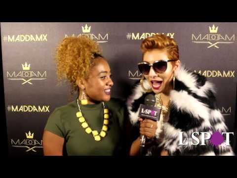 Tha L. Spot's Camille Jay Interviews Maddam X @ Faces In The Crowd Showcase @ SOB's!