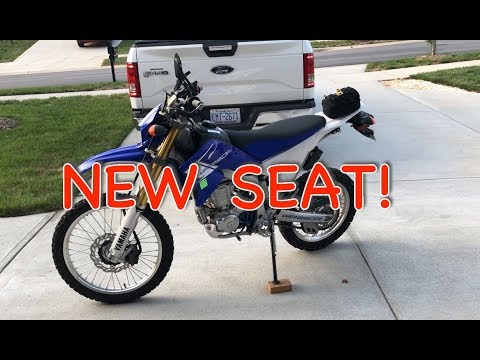 WR250R WR250X Seat Concepts Review - YouTube
